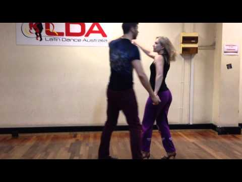 Advanced Salsa Move #210 - The Super Wrap