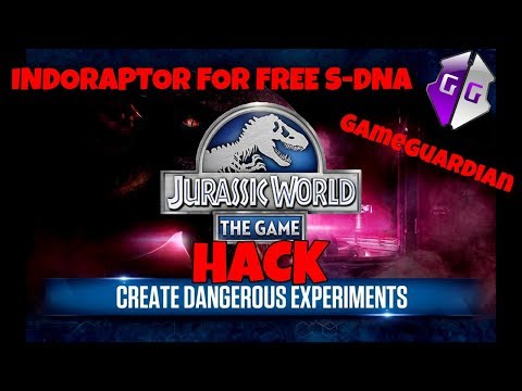 How To Get Indoraptor For FREE S-DNA In Jurassic World With GameGuardian