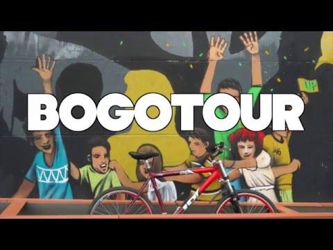 Bogotour, historia y graffiti de Bogotá en bicicleta (Colombia)