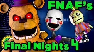 The Mystery FNAF Forgot! | Final Nights 4 Full Release