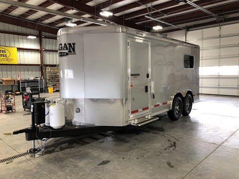 Logan Coach GW Edition Camper/Hunting Trailer