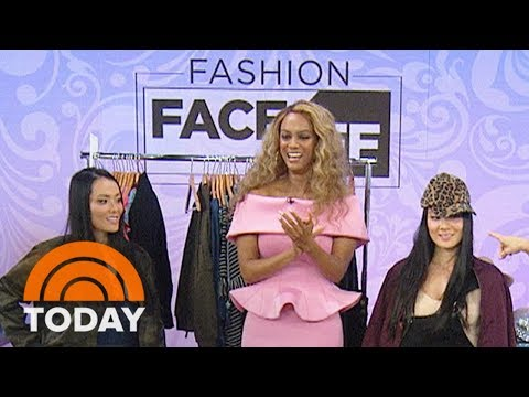 Tyra Banks and Sheinelle Jones Have A Frantic Fashion Face-Off | TODAY