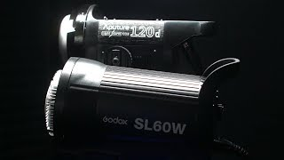 The BEST bang for the buck studio light! WOW!! - Godox SL-60 Review (SL-60W Review)