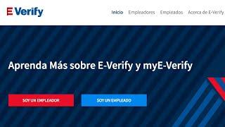 El Congreso recibe apoyo para que el sistema E-Verify sea de uso obligatorio en EEUU
