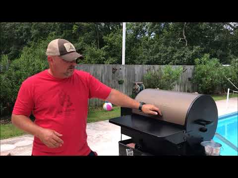 Review:  Traeger Tailgater 20