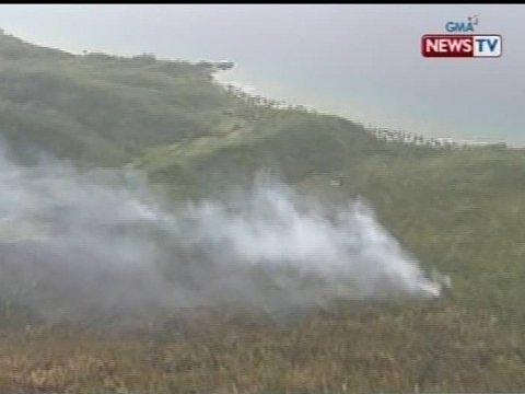 SONA: Sunog sa Rapu-Rapu Island, under control na