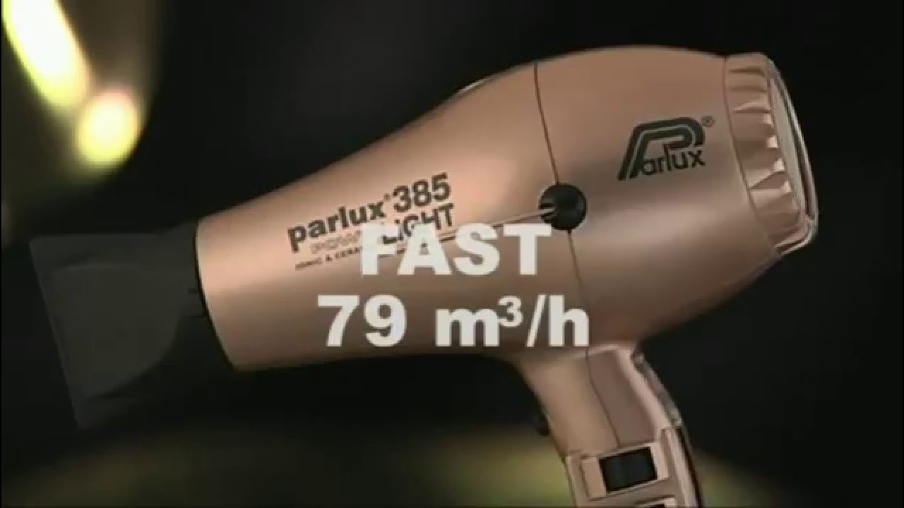Parlux 385 PowerLight IONIC   CERAMIC Asciugacapelli Professionale  Parrucchiere 9fedba0f641