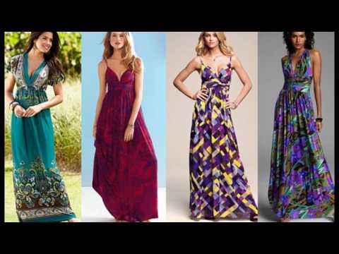 Модные шелковые сарафаны  2017