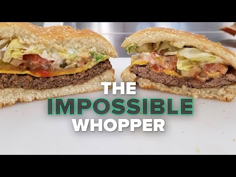 Trying Burger King's Impossible Whopper