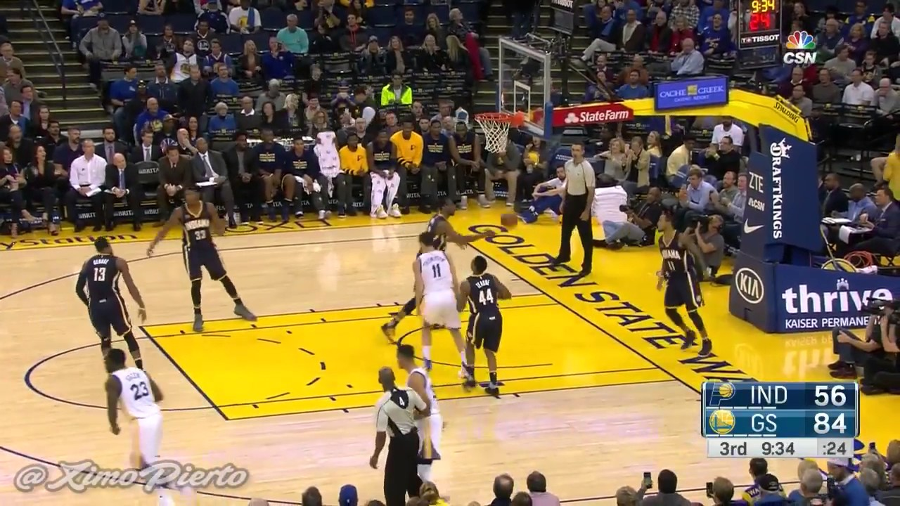 Indiana Pacers vs Golden State Warriors Dec 5, 2016 NBA ...
