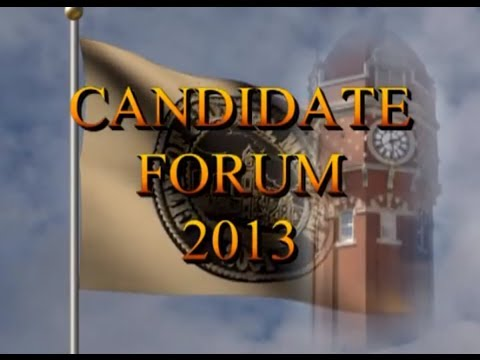 City Council Candidate Forum Oct. 2013