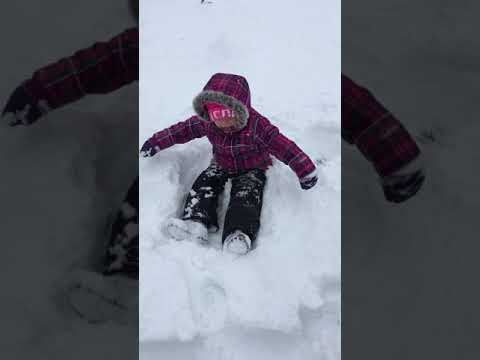The Snow Arrived with Stasyia's Story - Down syndrome