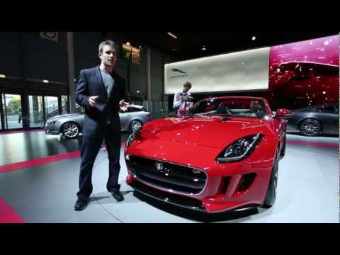 New Jaguar F-Type - Which First Look at Paris Motor Show 2012