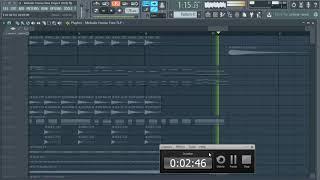 FL Studio 12 | Melodic House Project | Free FLP