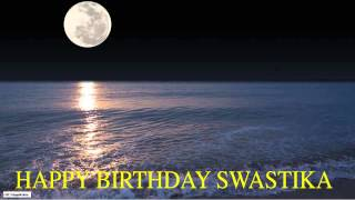 Swastika   Moon La Luna - Happy Birthday