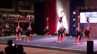 2-1-2015 J5 Cheer Tyme heartbreakers - American Masters in MD - day 2