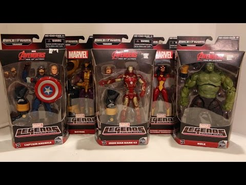Marvel Legends Avengers: Age of Ultron Action Figures Review