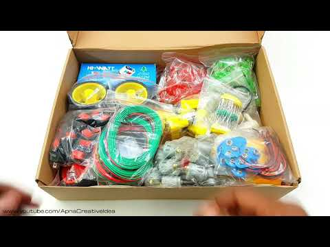 Basic Starter Science Project Kit 500 Item Kit Useful For School Science Project