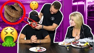 WE PRANKED HIM! GUESS THAT CANDY CHALLENGE