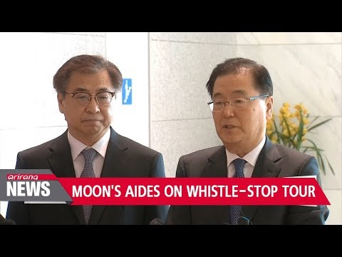 S. Korean President Moon leads overtures of dialogue with N. Korea