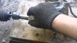 видео Замена рулевой рейки Бугатти