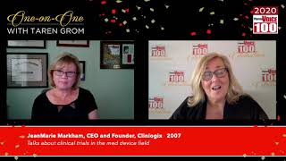 JeanMarie Markham, Clinlogix – 2020 PharmaVOICE 100 Celebration