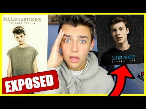 EXPOSING JACOB FOR STEALING SHAWN MENDES SONG!