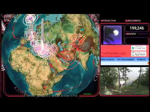 7/26/2017 -- Deep earthquakes in West Pacific should cause shallower larger events -- Be on watch