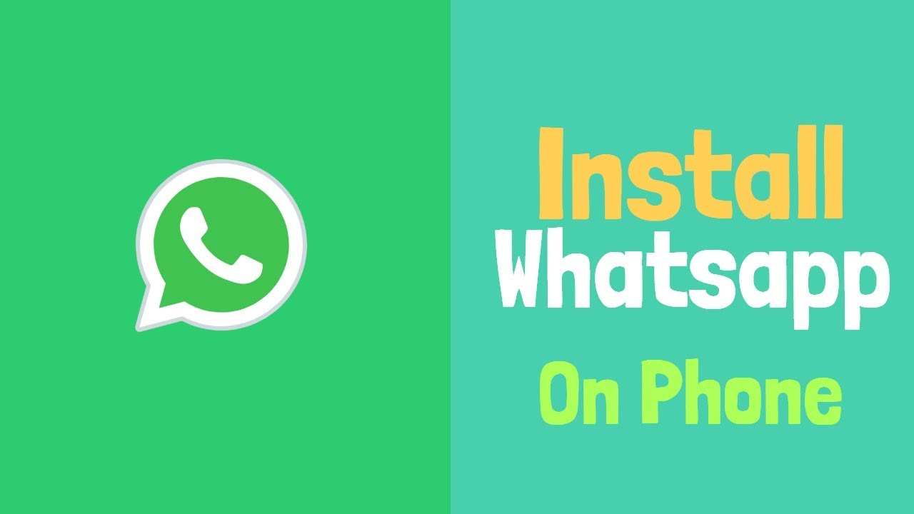 free download and install whatsapp