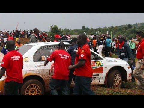 Motor Rally in Uganda