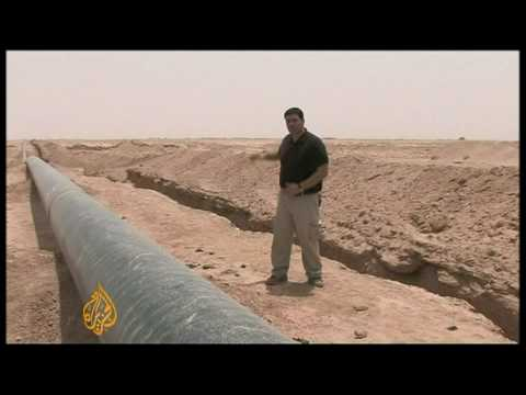 Iraq drives to protect oil pipelines