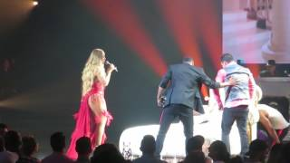 Mariah Carey Touch My Body Live in Las Vegas on 7/8/2017