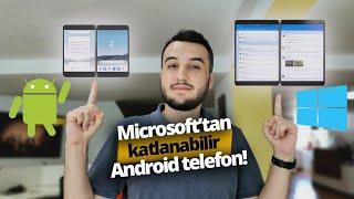 Microsoft'tan çift ekranlı katlanabilir Android telefon! - Microsoft Surface Neo ve Surface Duo