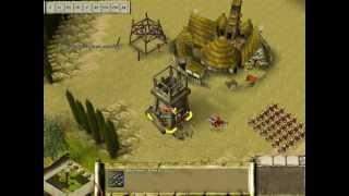Praetorians gameplay (mod imperial v4.1) 2v2 battle on hard