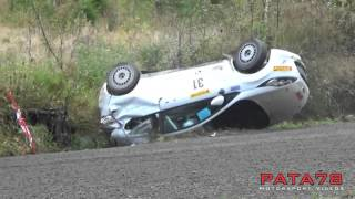 SM Pirelli Ralli 2015, Tampere (crash & action)