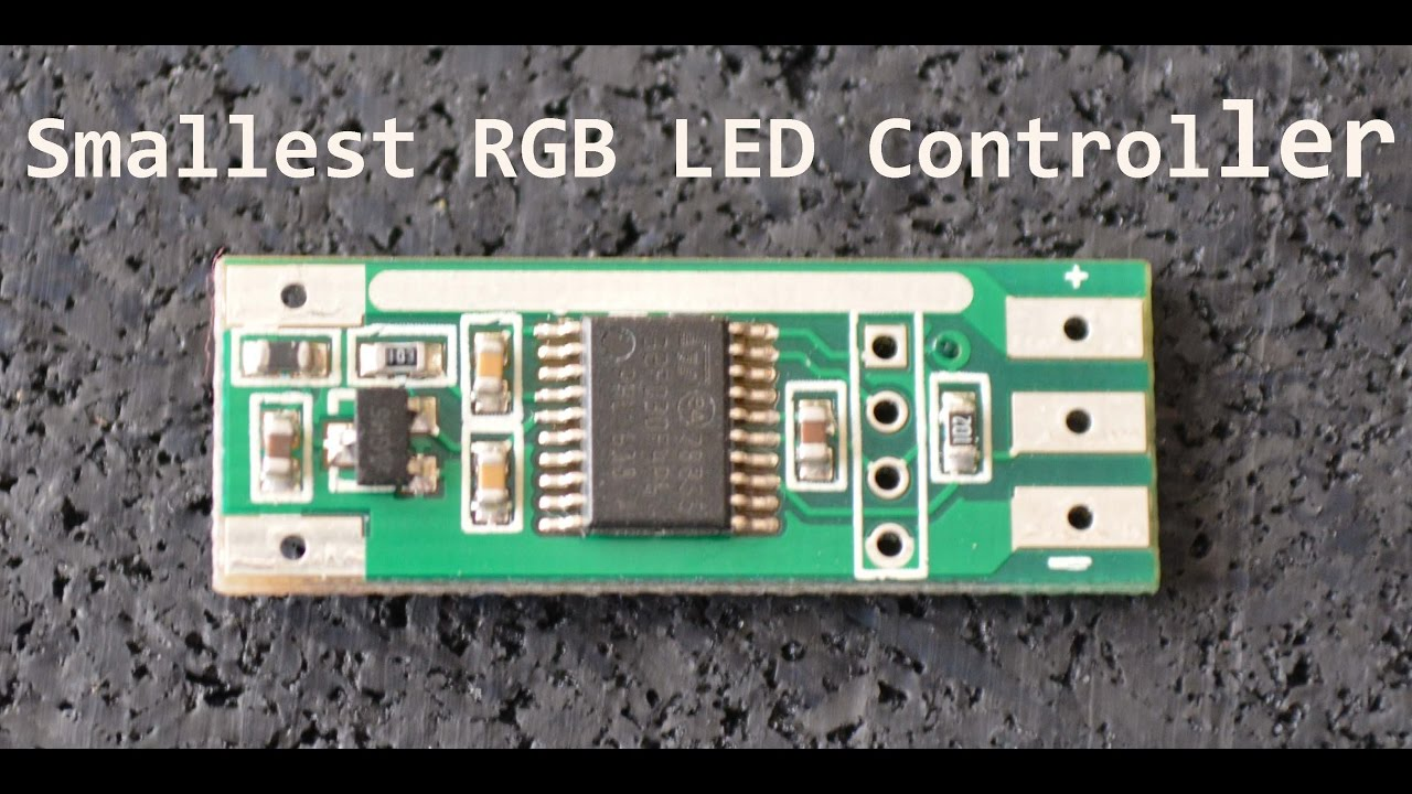 smallest addressable rgb led controller youtube. Black Bedroom Furniture Sets. Home Design Ideas