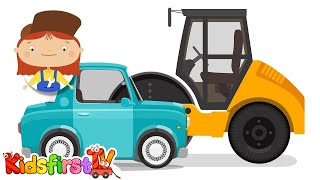 Doc McWheelie - ROAD REPAIRS! - Children's Car Cartoons