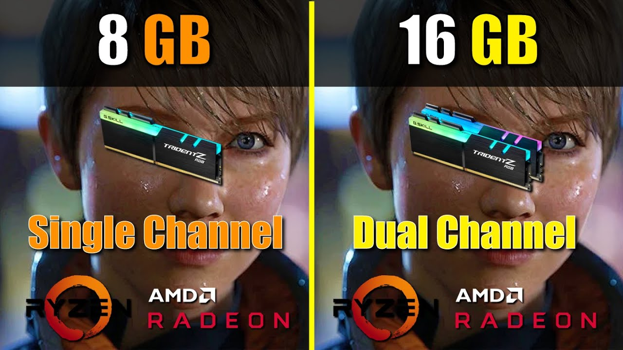 Single vs dual channel benchmark