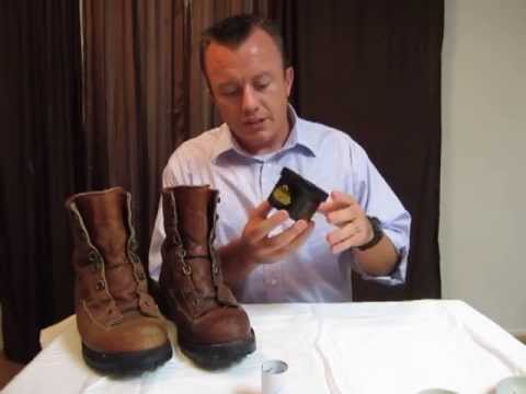 Danner Leather Gortex boots review with Obenauf's - YouTube