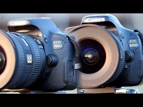 Canon 600D/T3i vs 700D/T5i Comparison Review