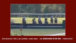 DISCOURS D'UN ROI / Vision d'Etat - Prix J  de Laurens Haies 3500m