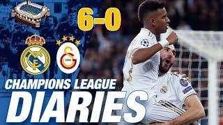 Champions League diaries | Real Madrid 6-0 Galatasaray