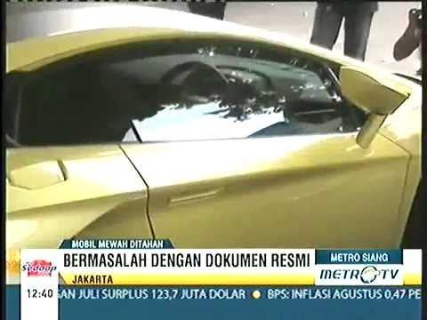 Mobil Lamborghini Milik H Lulung Politisi Ppp Di Tangkap