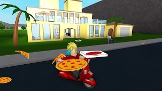 pizza delivery in roblox house tour welcome to bloxburg gamer chad plays