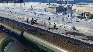Этапирование заключенных 10.02.2018 ст. Ковров Prisoners Escroting In Russia Kovrov Station
