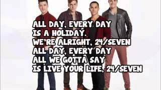 Big Time Rush - 24/Seven (Full Version) + Lyrics