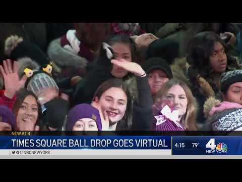 Times Square's New Years Eve Festivities Are Going Virtual | NBC New York