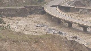 2,300 Evacuated As Landslide Intensifies Flooding in China