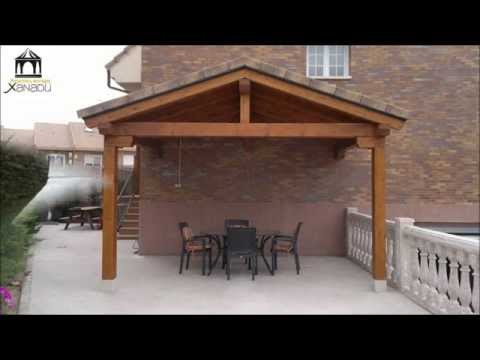 Pergolas y porches de madera youtube - Fotos de porches ...