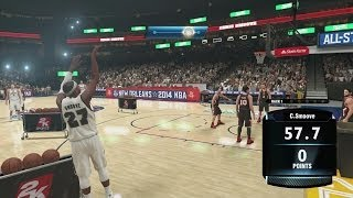 NBA 2K14 PS4 My Career - 3 Point Contest